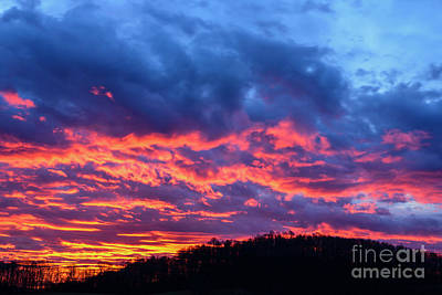 Photograph - Red Sky Dawn  by Thomas R Fletcher