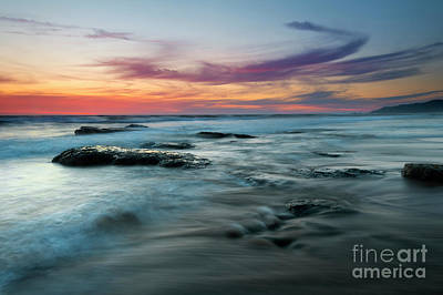 Photograph - Red Sky Sunset by Mike Dawson