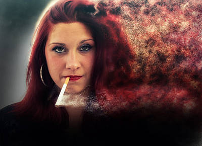 Photograph - Red Sonia by Jason Shephard