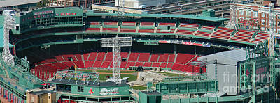 Red Sox - Fenway Park  Art Print by Bill and Deb Hayes