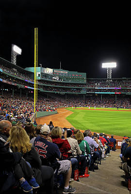 Photograph - Red Sox Nation At Boston Fenway Park by Juergen Roth