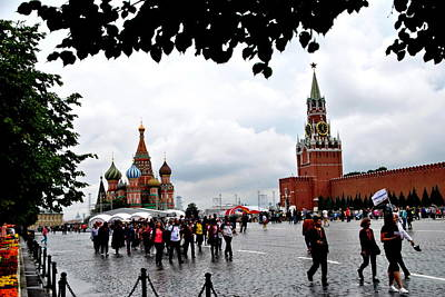 Photograph - Red Square - Moscow by Jacqueline M Lewis