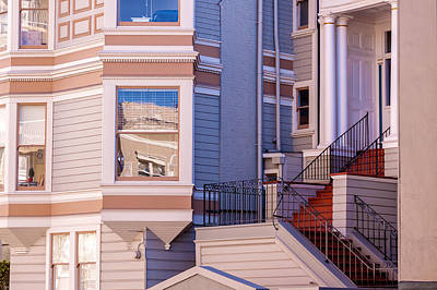 Photograph - Red Stairs by Jonathan Nguyen