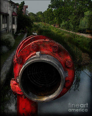 Photograph - Red Standpipe by Colleen Kammerer