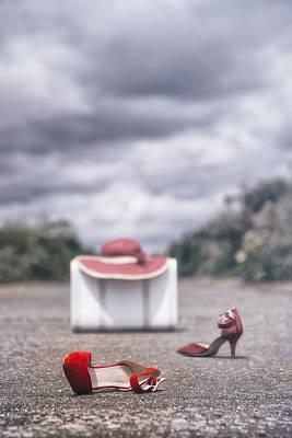 Stilettos Photograph - Red Stilettos by Joana Kruse