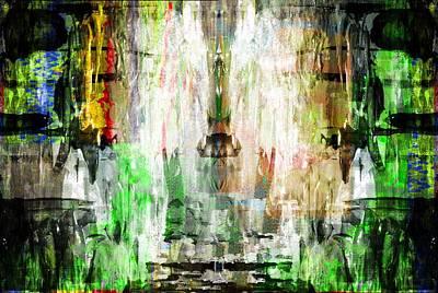 Digital Art - Red Strategy by Art Di