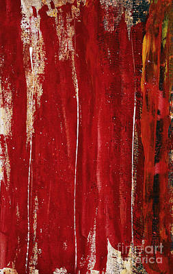 Shift Painting - Red Study 1 by Brian Drake - Printscapes