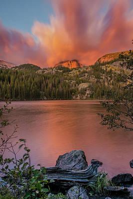 Photograph - Red Sunrise  by Greg Wyatt