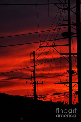 Photograph - Red Sunset  by Clayton Bruster