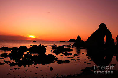 Photograph - Red Sunset by Eena Bo