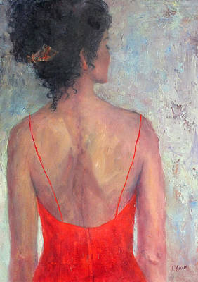 Painting - Red Taffeta by Jill Musser