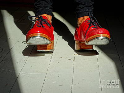Photograph - Red Tap Shoes by Lainie Wrightson
