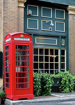Photograph - Red Telephone Box by Nicholas Blackwell