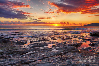 Photograph - Red Tide Pools by Beth Sargent