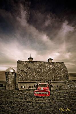 Photograph - Red Truck  by Rikk Flohr