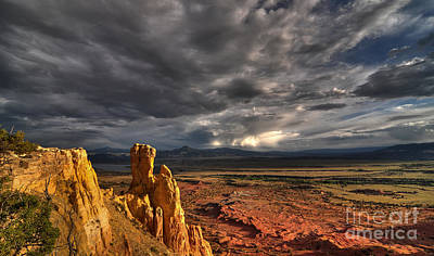 Photograph - Red Valley by Brian Spencer