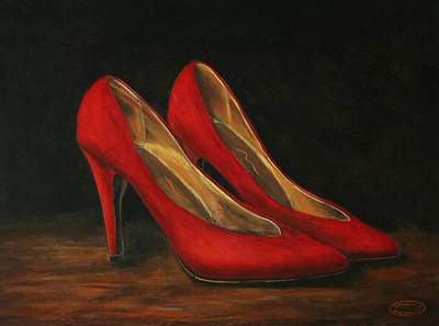Painting - Red Velvet by Sharon Steinhaus