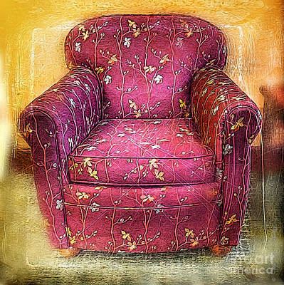 Photograph - Red Vine Chair by Craig J Satterlee