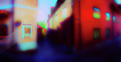 Photograph - Red Wall by Jan W Faul