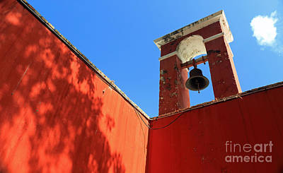 Photograph - Red Walls by Mary Haber