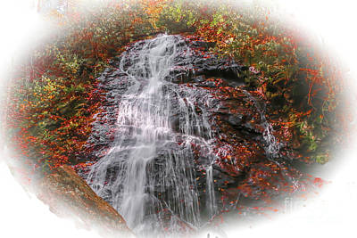 Photograph - Red Waterfall by Tom Claud