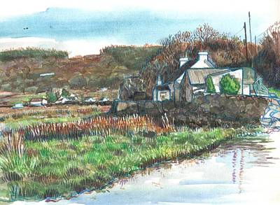 Painting - Red Wharf Bay by Robert Spittlehouse
