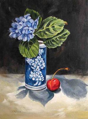 Painting - Red White And Blue by Cheryl Pass