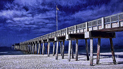 Panama City Beach Photograph - Red White And Blue by Dave Bosse