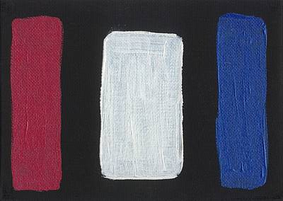 Painting - Red White And Blue Divided by Phil Strang