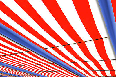 Photograph - Red White And Blue by Paul Wear