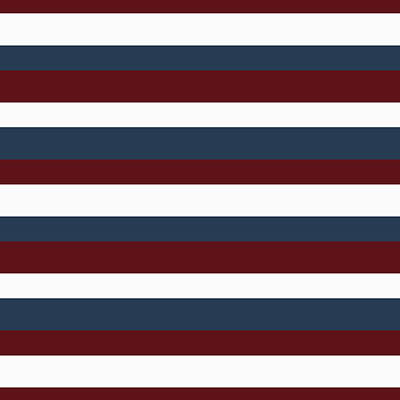 Digital Art - Red White Blue Stripes by P S