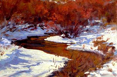 Painting - Red Willow Creek by Joseph Barani