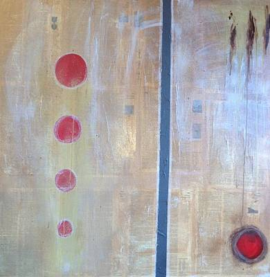Mixed Media - Red by Windy Savarese