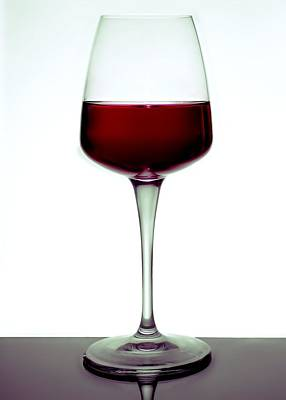 Photograph - Red Wine by Perry Correll