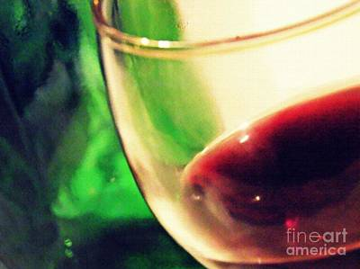 Photograph - Red Wine by Sarah Loft