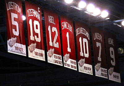 Photograph - Red Wing Banners by Danielle Allard