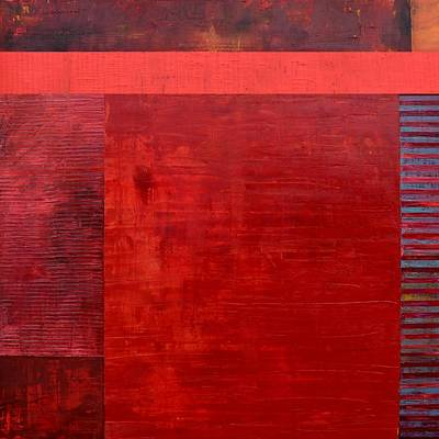 Painting - Red With Orange by Michelle Calkins