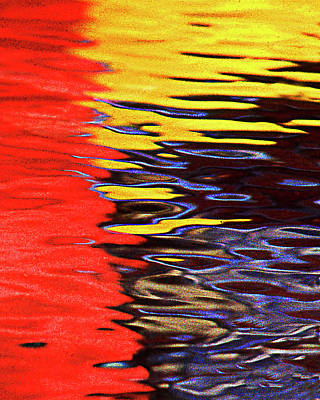 Red Yellow Blue Art Print by Frank Bez