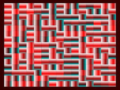 Fire Digital Art - Red.120 by Gareth Lewis