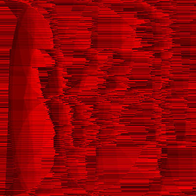 Animal Digital Art - Red.18 by Gareth Lewis