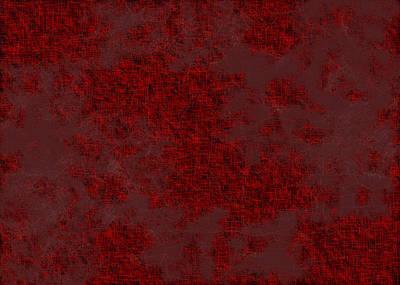 Pattern Digital Art - Red.239 by Gareth Lewis