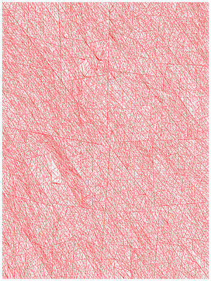 Wood Digital Art - Red.272 by Gareth Lewis