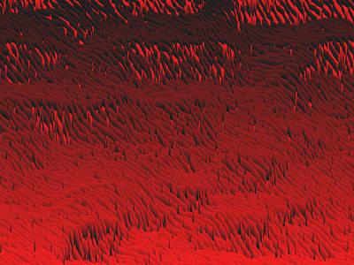 Plant Digital Art - Red.422 by Gareth Lewis