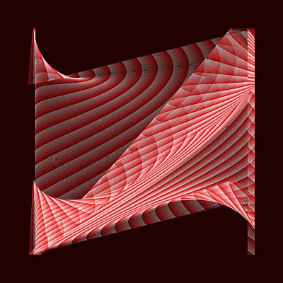 Background Digital Art - Red.66 by Gareth Lewis