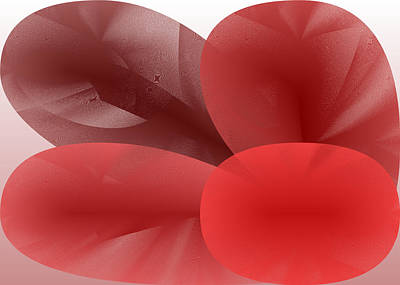 Red Digital Art - Red.729 by Gareth Lewis
