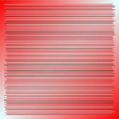 Dark Digital Art - Red.8 by Gareth Lewis