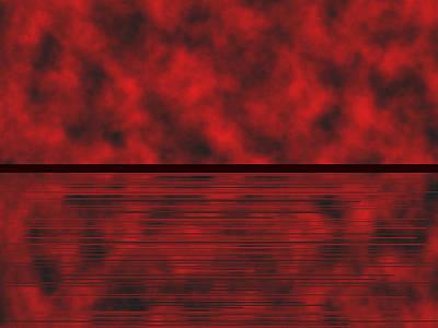 Rustic Digital Art - Red.83 by Gareth Lewis
