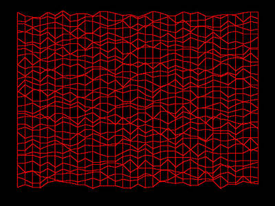 Hill Digital Art - Red.95 by Gareth Lewis