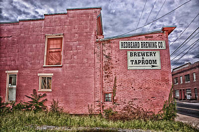 Photograph - Redbeard Brewing Co. by Mike Martin