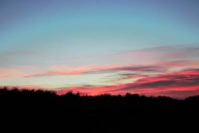 Sara Habecker Folk Print - Redcar Sunset uk by Nathan Smiddy